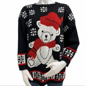 Vintage Cute Ugly Christmas Sweater
